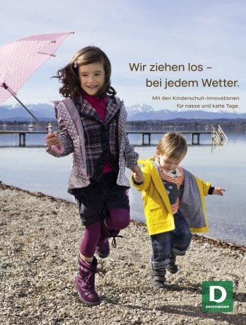 Wir ziehen los -; bei jedem Wetter.