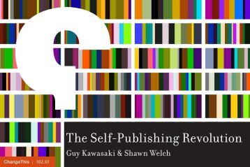 The Self-Publishing Revolution