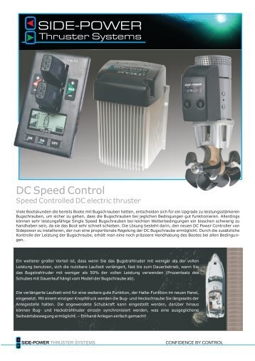 DC Speedcontrol PDF - Side-Power Bugstrahlruder