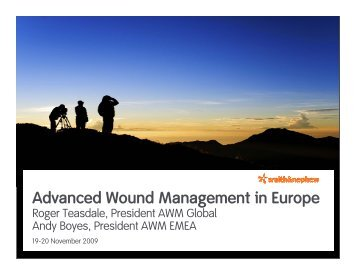 Advanced Wound Management in Europe PDF - Smith & Nephew