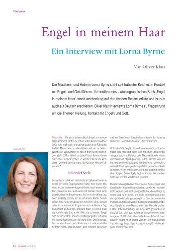 Interview mit Lorna Byrne - Oliver Klatt