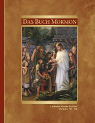Das Buch Mormon - The Church of Jesus Christ of Latter-day Saints
