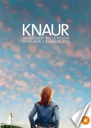 Knaur Hardcover Belletristik Frühjahr 2013 - Verlagsgruppe ...