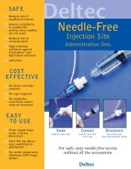 Needle-Free Injection Site - Smiths Medical