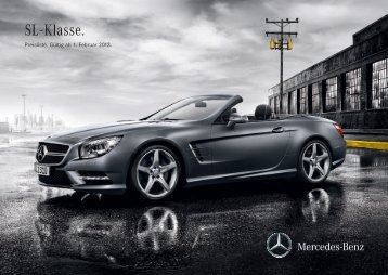 Download Preisliste SL Roadster - Mercedes-Benz Deutschland