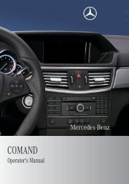 COMAND - Mercedes Benz USA