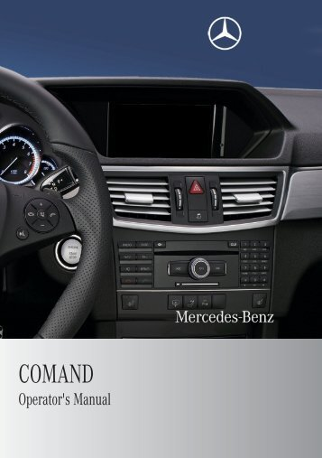 COMAND - Mercedes Benz USA