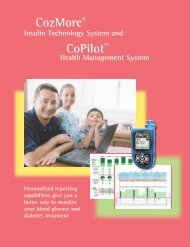 Personalized reporting capabilities - Smiths Medical