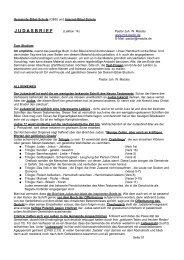 Judasbrief pdf - Neue Nazarethkirche, Gemeinde Gottes Berlin