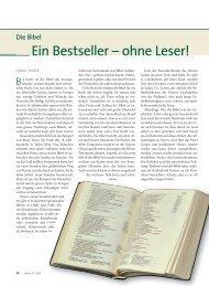 Ein Bestseller – ohne Leser! - Ethos