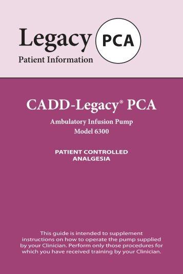 Cadd Legacy 1 6400 User Manual