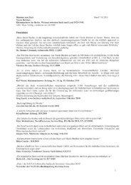 Stimmen zum Buch Stand 7.10.2011 - Gebr. Mann Verlag
