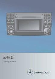 Audio 20 Operating Instructions - Sprinter