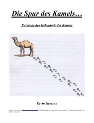 Die Spur des Kamels… - Trinitatis-Mannheim