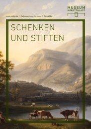 schenKen unD stiften - Museum Kunstpalast