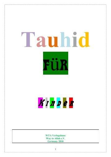 Tauhid für Kinder - Way to Allah