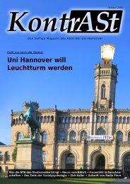 Uni Hannover will Leuchtturm werden - AStA Uni Hannover