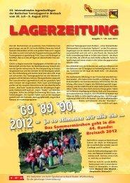 lagerzeitung - Badischer Turner Bund