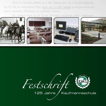 Festschrift - Berufskolleg Kaufmannsschule der Stadt Krefeld