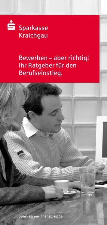 bewerben sparkasse kraichgau - Sparkasse Online Bewerbung