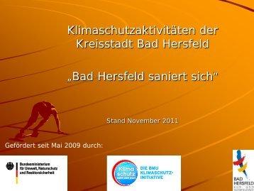 Bad Hersfeld saniert sich