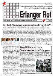 Erlanger Rot - DKP Nordbayern