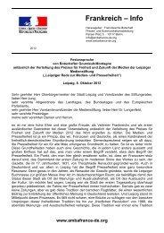 Discours intégral de l'ambassadeur (en langue allemande