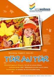 Mieterzeitung · Ausgabe 67 · Herbst 2012 Mieterbefragung in ...