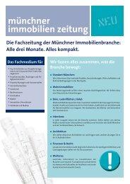 münchner immobilien zeitung - Aigner Immobilien GmbH