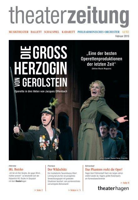 Theaterzeitung Februar 2013 - Theater Hagen