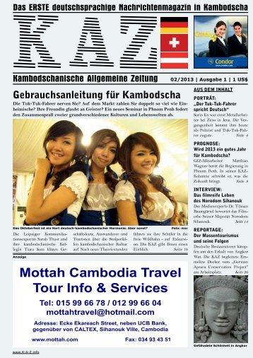 KAZ.info - Kambodschanische Allgemeine Zeitung