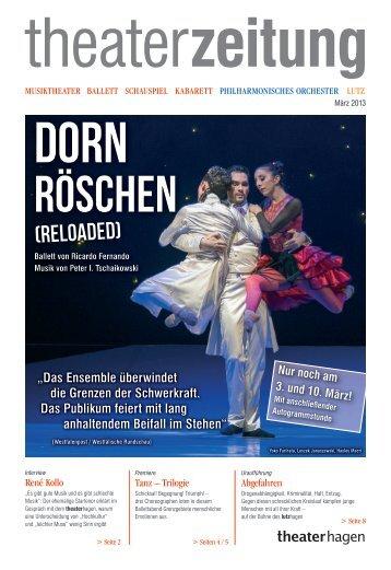 Theaterzeitung März 2013 - Theater Hagen