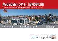 Mediadaten 2013 | IMMOBILIEN - Berliner Zeitung