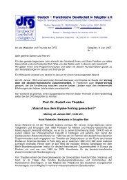 Prof. Dr. Rudolf von Thadden - DFG - Salzgitter