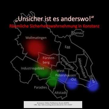 Unsicher ist es anderswo! - KOPS - Universität Konstanz