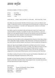 Lesen Sie hier die Pressestimmen - Kulturverein Eberdingen