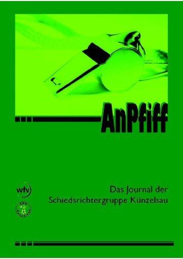SRG-Anpfiff 03/12 - Schiedsrichtergruppe Künzelsau
