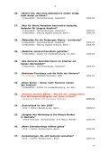 Edwin E. Braatz Veröffentlichungen, Vorträge, Interviews Thema ... - Seite 3