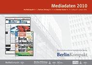 BerlinKompakt Nr. 3, Berliner Zeitung Nr. 22 - GSMedien