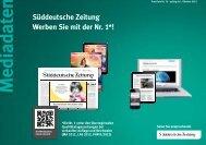 Preisliste 2012/2013 - sz-media.de - Süddeutsche Zeitung