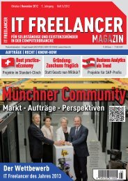 IT Freelancer Magazin Nr. 5/2012