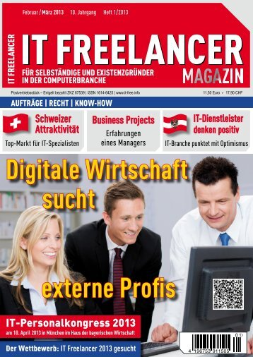 IT Freelancer Magazin Nr. 1/2013