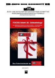 03/13 - Buch- und Zeitschriften Grossvertrieb Schmitt KG
