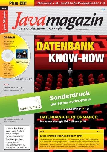 Performance Antipatterns Teil 3 Problemkind JDBC-Schicht