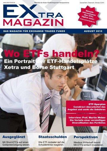 Wo ETfs handeln? - EXtra-Magazin