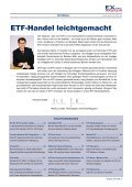 Wo ETfs handeln? - EXtra-Magazin - Seite 3