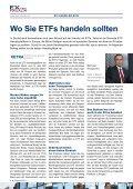 Wo ETfs handeln? - EXtra-Magazin - Seite 4