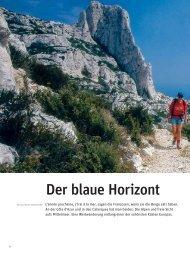 Der blaue Horizont publiziert im VCS-Magazin Nr
