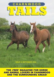 The free magazine for horse and animal lovers - Charnwood Tails