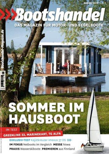 Bootshandel DAS MAGAZIN FÜr MoTor- UNd SEGELBooTE - BunBo
